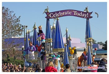 Walt Disney World Florida, Celebrate Today