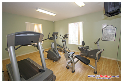 Manors at Westridge Clubhouse - Fitness Room
