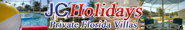 JCHolidays - Private Florida Vacation Rental Holiday Villa